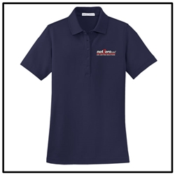 Net Zero USA EZCotton™ Pique Ladies Polo - Navy